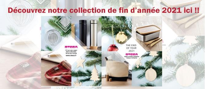 nouveautés catalogues OTECA goodies et cadeaux fin d